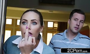 Easy to deal with neighbors turtle-dove - august ames, nicole aniston