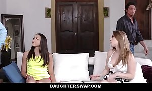 Daughterswap - hot daughters be captivated by dads for assets