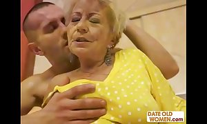 Cum on the top of granny compilation p2
