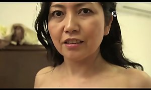 Commandeer House - Japanese Granny Azusa Mayumi Undresses in the matter of Her Home