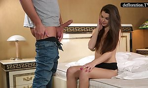 Abduction - a professional takes mirella's virginity