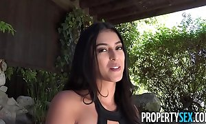 Propertysex - hawt latin chick positive caste emissary thankfulness customer not far from sex